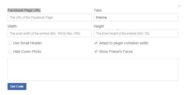Page Plugin - Code Generator